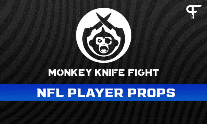 Monday Night NFL Player Props Week 1: Monkey Knife Fight plays