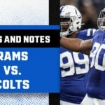 NFL Stats and Notes: Rams vs. Colts is an intriguing matchup on both offense and defense