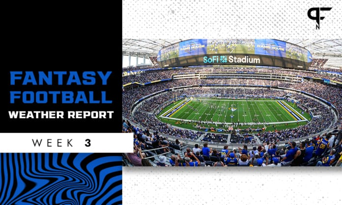 NFL Weather Report and Forecast Week 3: Gusty winds in the forecast on Sunday