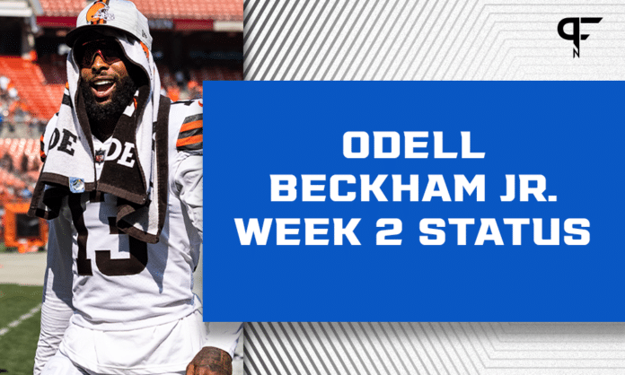 Cleveland Browns' Odell Beckham Jr. Injury Update: Out vs. Houston Texans, but not considered a setback