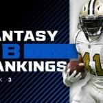 Fantasy RB Rankings Week 3: Christian McCaffrey in a league of his own