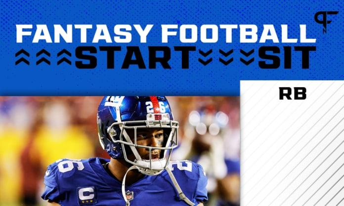 NFL Start 'Em, Sit 'Em Week 3: Running back sleepers, matchups, and more