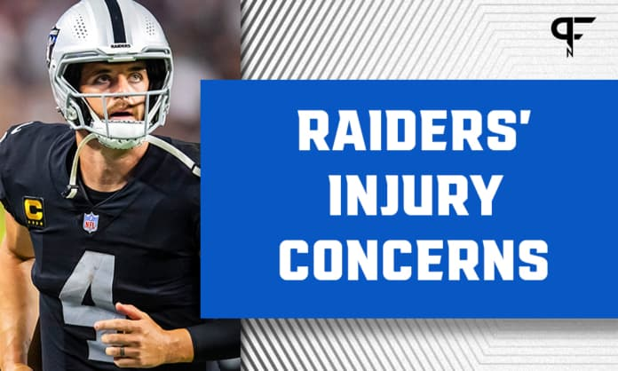 Derek Carr's 'questionable' status could open the door for the return of Nathan Peterman