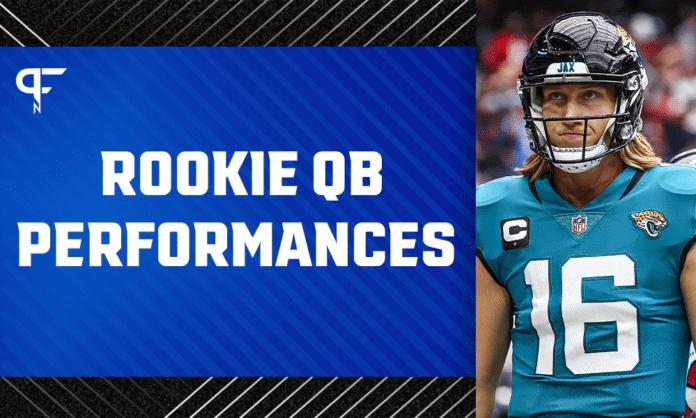 NFL Rookie QB Report Week 1: Lawrence, Wilson, Lance, Jones make history
