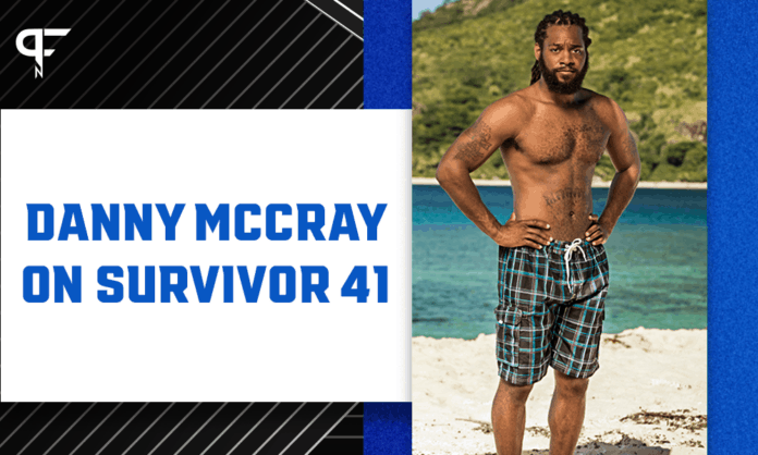 Former NFL DB Danny McCray debuts for Luvu Tribe on Survivor 41