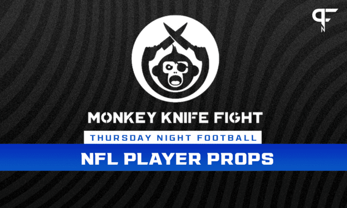 Thursday Night Football Player Props Week 2: Monkey Knife Fight plays