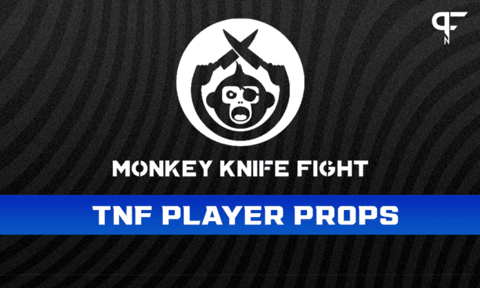 NFL Player Props Week 1: Thursday Night Football Monkey Knife Fight plays