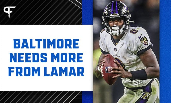 Ravens need more from Lamar Jackson to be successful long-term