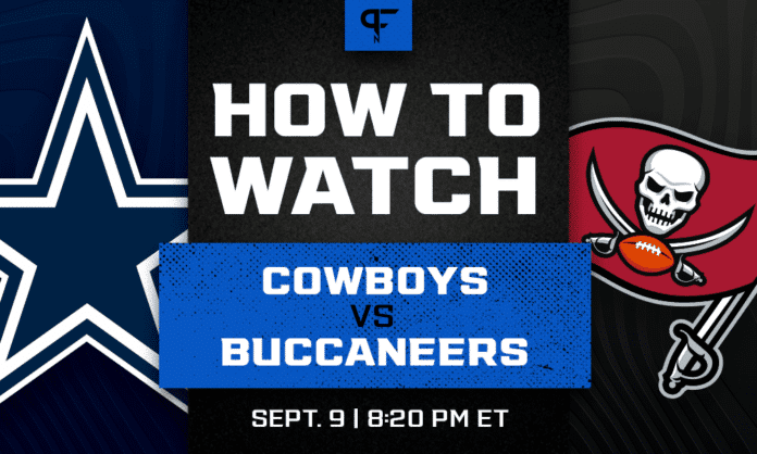 Thursday Night Football Tonight: Cowboys vs. Buccaneers channel, live stream, start time, more