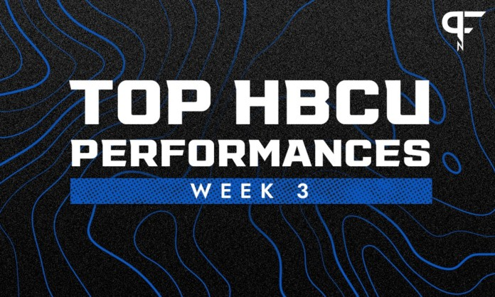 Top 5 HBCU performances from Week 3 in college football