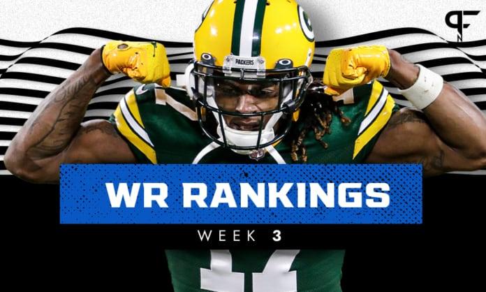 Week 3 WR Rankings: Corey Davis, Jaylen Waddle just outside the top 40