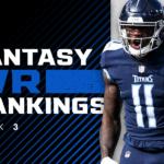 Fantasy WR Rankings Week 3: Tyler Lockett and Cooper Kupp are inside the top 20