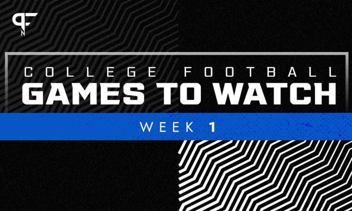 Week 1 College Football Games: Main event highlights Georgia and Clemson