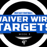 Week 1 Waiver Wire: Best pickups and targets for fantasy football include Justin Fields & Tyrell Williams