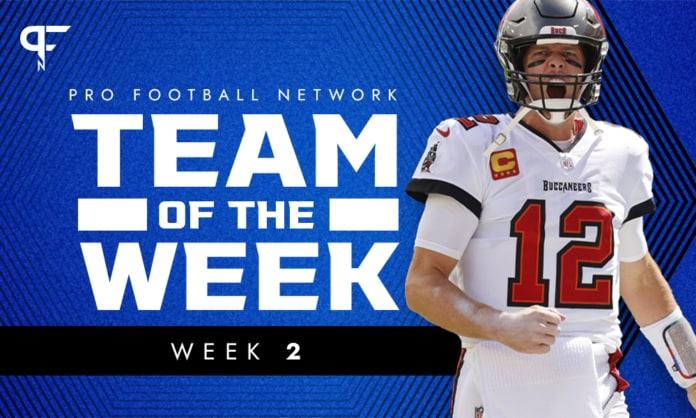 Week 2 NFL Team of the Week: Tom Brady has entered the conversation
