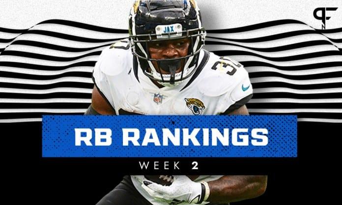 Week 2 RB Rankings: James Robinson, Devin Singletary outside the top 20