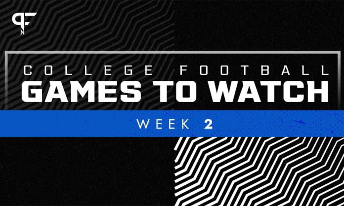 How to Watch College Football Games, Week 2: Times, TV channels, and more
