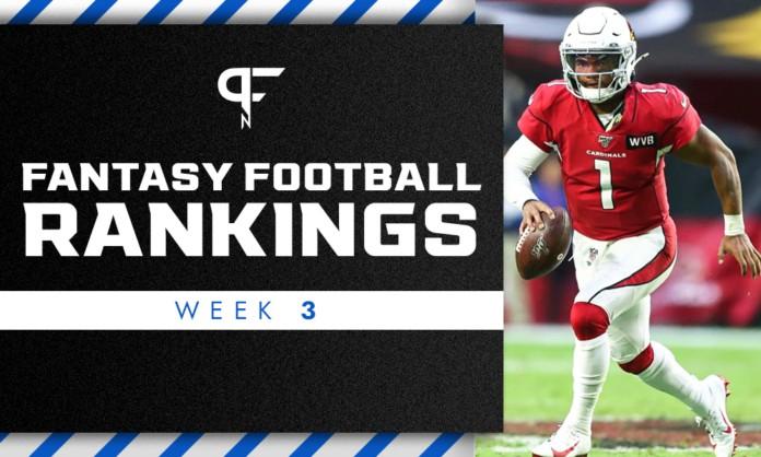 Fantasy Football Rankings Week 3: Leonard Fournette, Darnell Mooney round out top 120