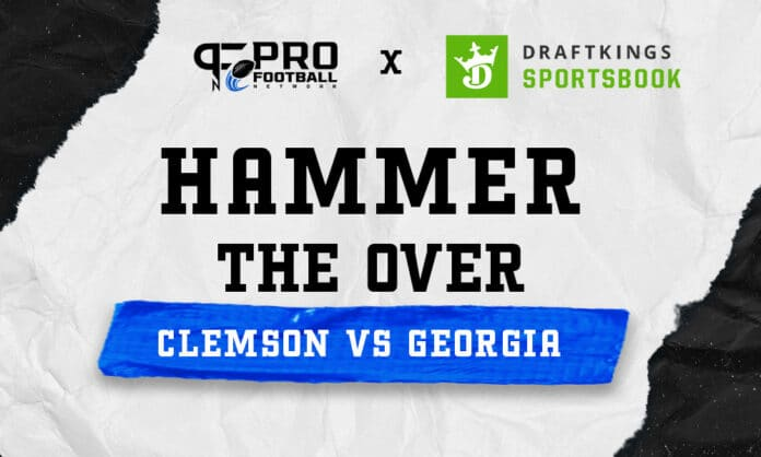 Hammer the Over with DraftKings Sportsbook's college football promo