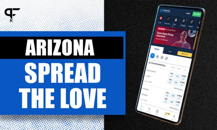 FanDuel Sportsbook Arizona NFL promo