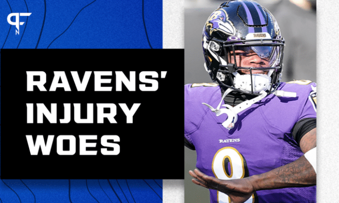 Ravens injury-wrecked offense same as it always was -- almost totally dependent on Lamar Jackson