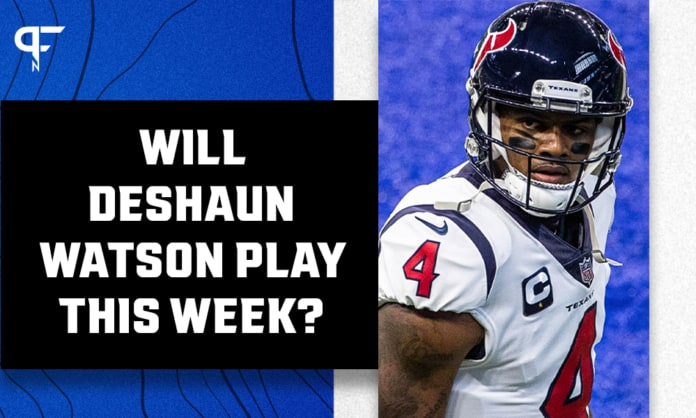 Will Deshaun Watson play Thursday night following Tyrod Taylor's injury?