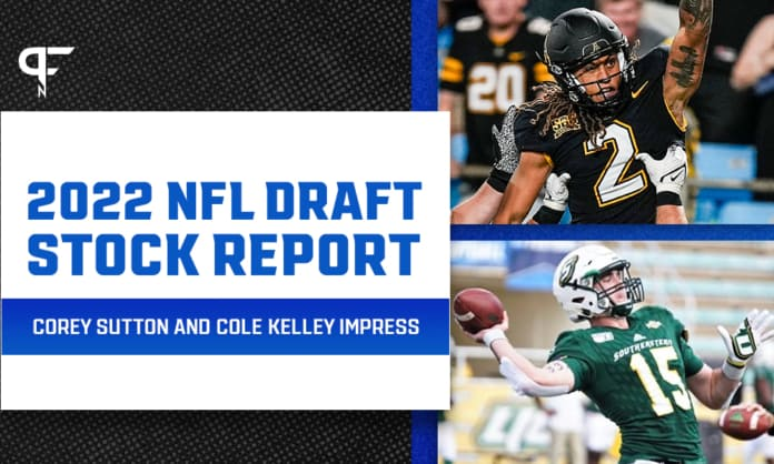 2022 NFL Draft Stock Report: Corey Sutton and Cole Kelley impress