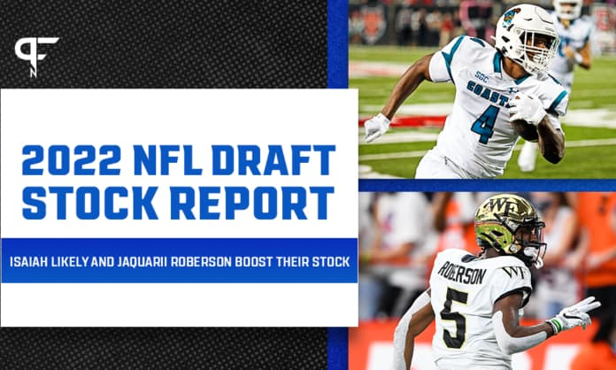 2022 NFL Draft Stock Report: Isaiah Likely and Jaquarii Roberson boost their stock