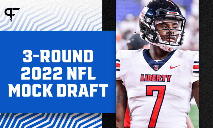 2022 NFL Mock Draft: Malik Willis and Matt Corral go in the top 10