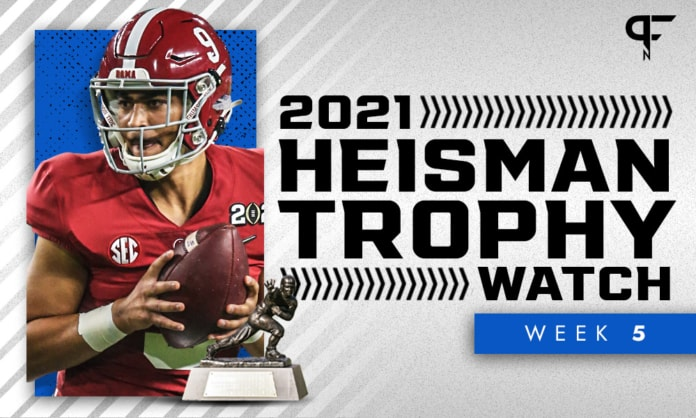 Heisman Trophy Odds: Does Bryce Young stand unopposed after Week 5?