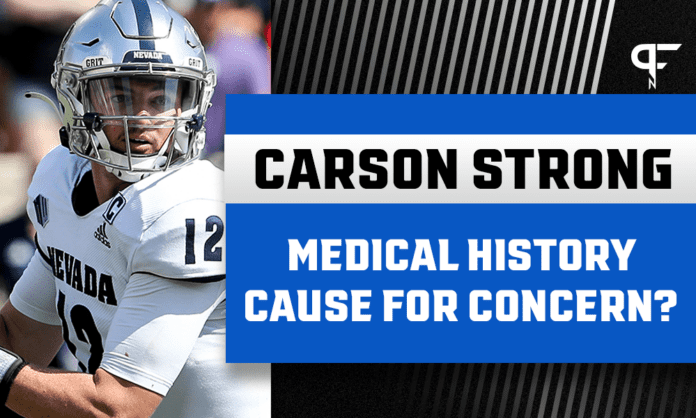 Carson Strong's Draft Stock: Medical history could create uncertainty