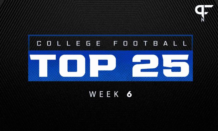 College Football Rankings Week 6: Alabama falls to Texas A&M