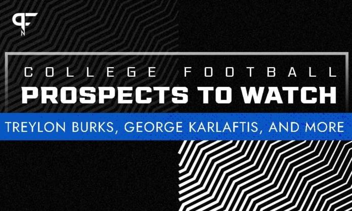 College Football Week 5: Treylon Burks, George Karlaftis to have big days?