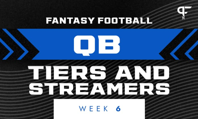 Week 6 QB Rankings and Streamers: Can you trust Justin Fields this week?