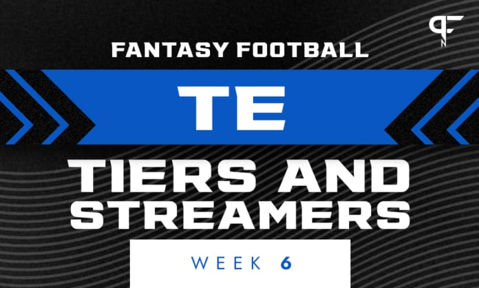 Fantasy Football TE Tiers and Streamers for Week 6   Dawson Knox and Ricky Seals-Jones interesting options