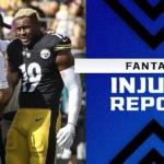 Fantasy Injury Report: Saquon Barkley, Clyde Edwards-Helaire, JuJu Smith-Schuster injury updates