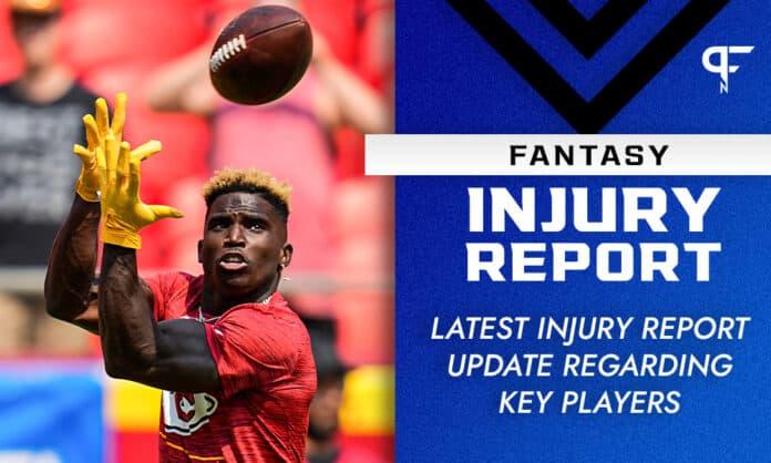 Fantasy Injury Report: Saquon Barkley, Nick Chubb, Mike Williams injury updates