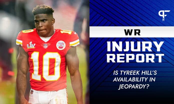Fantasy WR Injury Report Week 6: Is Tyreek Hill's availability in jeopardy?