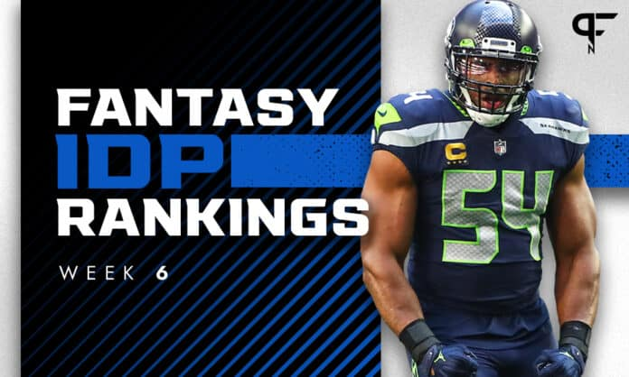 IDP Rankings Week 6: Top defensive fantasy football players to start