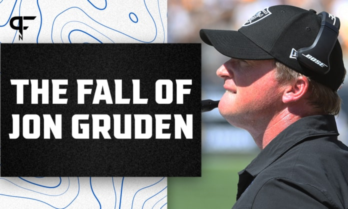 Raiders coach Jon Gruden resigns after more offensive emails become public