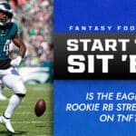 Kenneth Gainwell Start/Sit Week 6: Is the Eagles' rookie RB streamable on TNF?