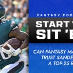 Miles Sanders Start/Sit Week 6: Can fantasy managers trust Sanders as a top-25 RB?