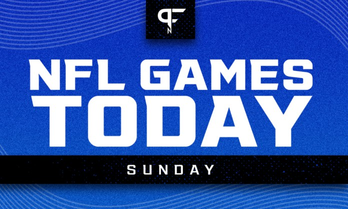 NFL Games Today TV Schedule: Week 5 Sunday games