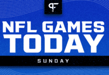 NFL Games Today TV Schedule: Week 6 Sunday games