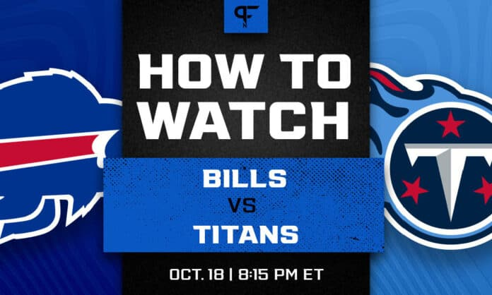 Bills vs. Titans prediction, pick, odds, and how to watch the Monday night game