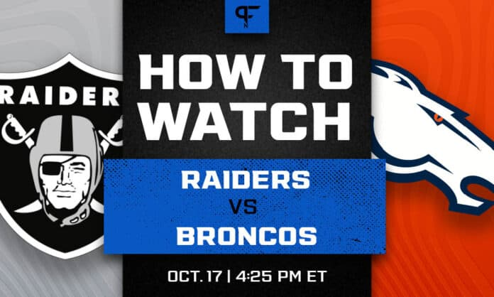 Raiders vs. Broncos prediction, pick, odds, and how to watch the Week 6 game