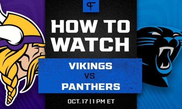 Vikings vs. Panthers prediction, pick, odds, and how to watch the Week 6 game