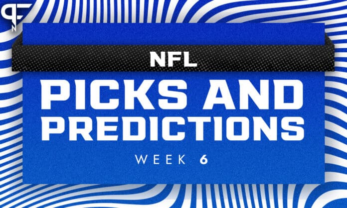 NFL Week 6 Picks, Predictions, Odds: Cowboys, Lions highlight our best bets of the week