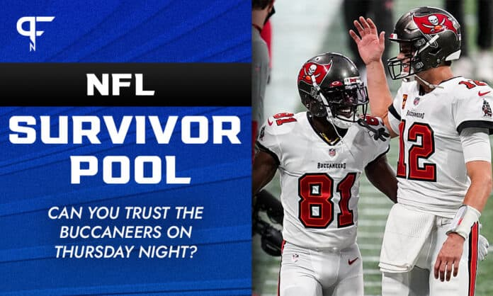 NFL Survivor Pool Week 6: Can you trust the Buccaneers on Thursday night?