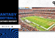 NFL Weather Report and Forecast Week 6: Gusty winds across the early slate of games